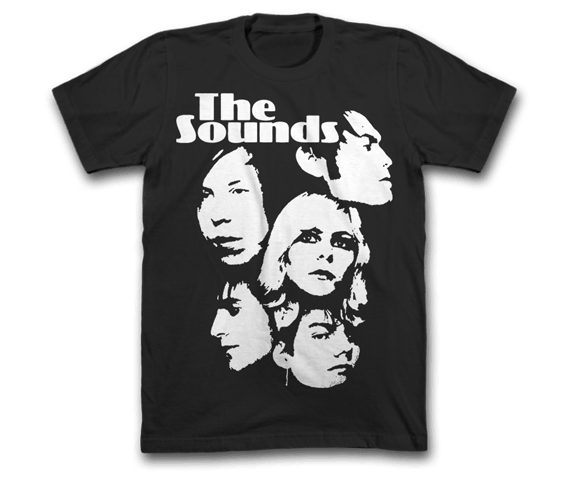 The Sounds - Faces Tee